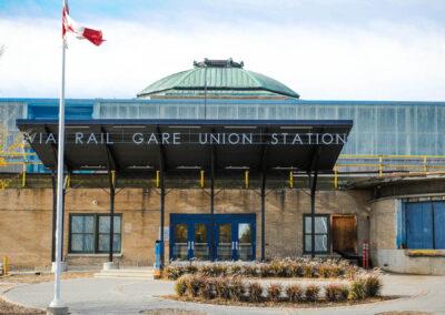Via Rail Winnipeg Union Station Renovation