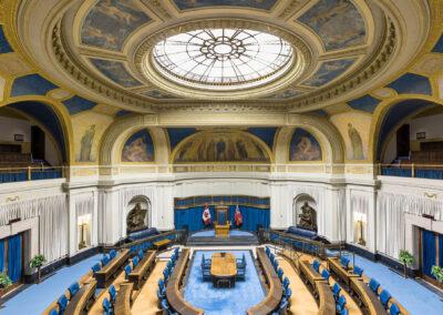 Manitoba Legislative Building – Restoration of the Chamber