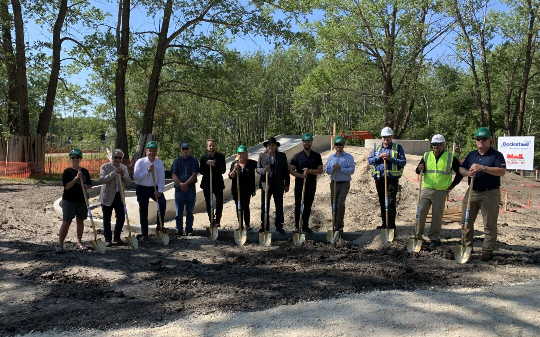 Breaking Ground at the International Peace Garden